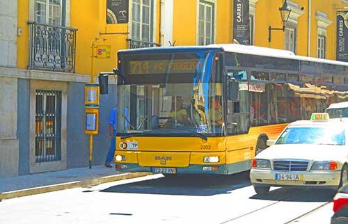 714 Lisbon Bus, Portugal.