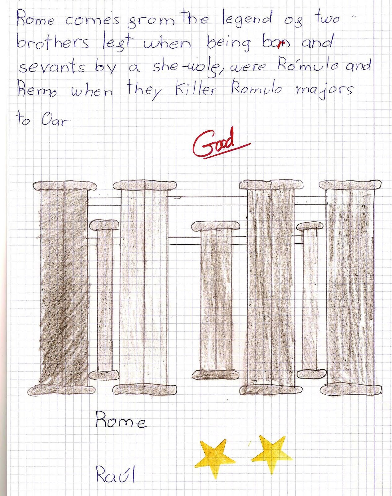 Science In The School The Legend Of Romulus And Remus