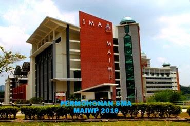 Permohonan SMA MAIWP 2019 Online