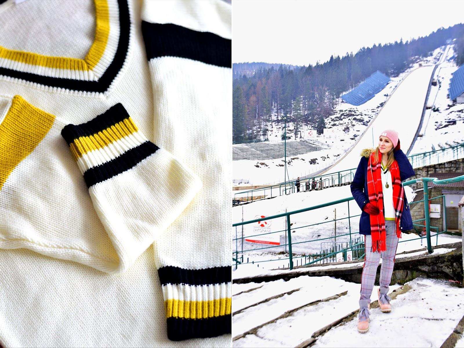 stylizacja_na_zimę_blog_zakopane_wielka_krokiew_sweter