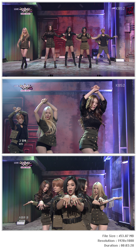 LIVE: f(x) – Red Light (140704 KBS Music Bank) ← 4Sashi COM