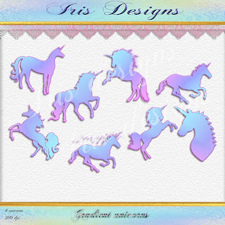 Gradient unicorns