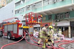 Toko Bangunan Di Nortpoint Terbakar, Berimbas Toko Jasa Paket Tutup Selama Peristiwa