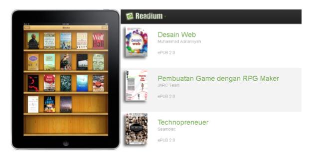 Memformat dan Membaca Buku Digital