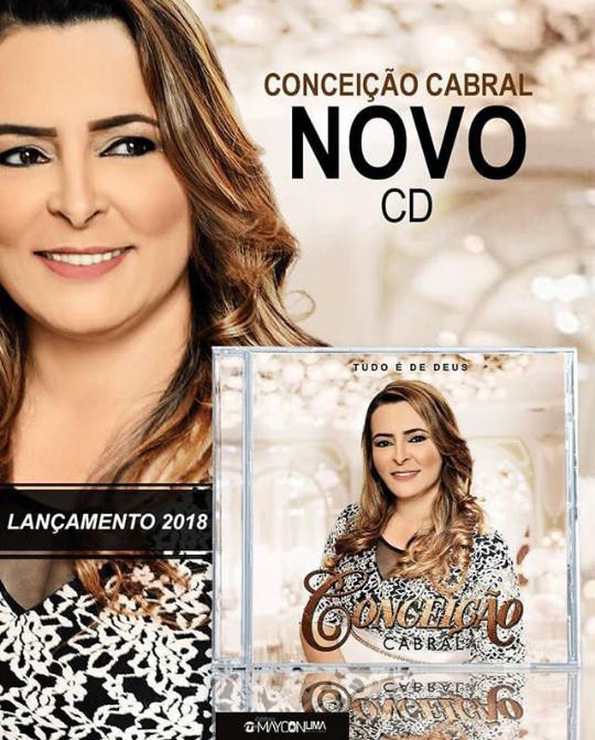 88602bbd244 Conceição Cabral lança seu novo álbum