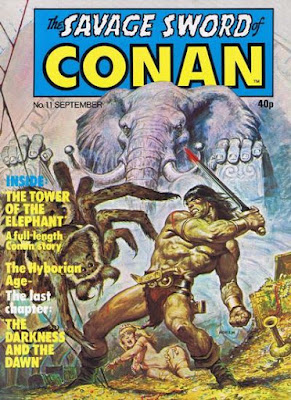 Marvel UK, Savage Sword of Conan #11, Tower of the Elephant