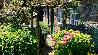 jardín en la calle