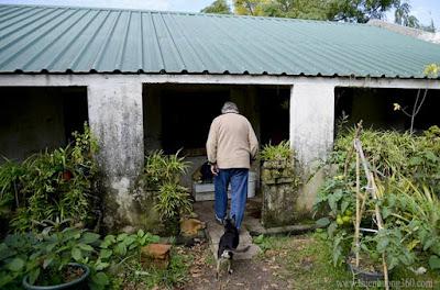 Ngôi nhà tồi tàn của tổng thống Uruguay Jose Mujica