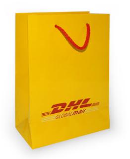 marka baskılı karton poşet
