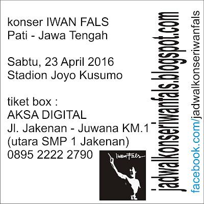 Jadwal Konser Iwan Fals di Pati Jawa Tengah
