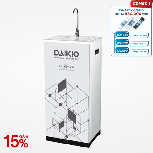 Máy lọc nước Daikio thông dụng DKW-00010A - Dòng Hydrogen -Trắng sữa