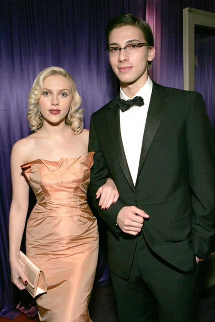 Scarlett Johansson and Hunter Johansson