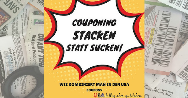 stacken von Coupons in den USA