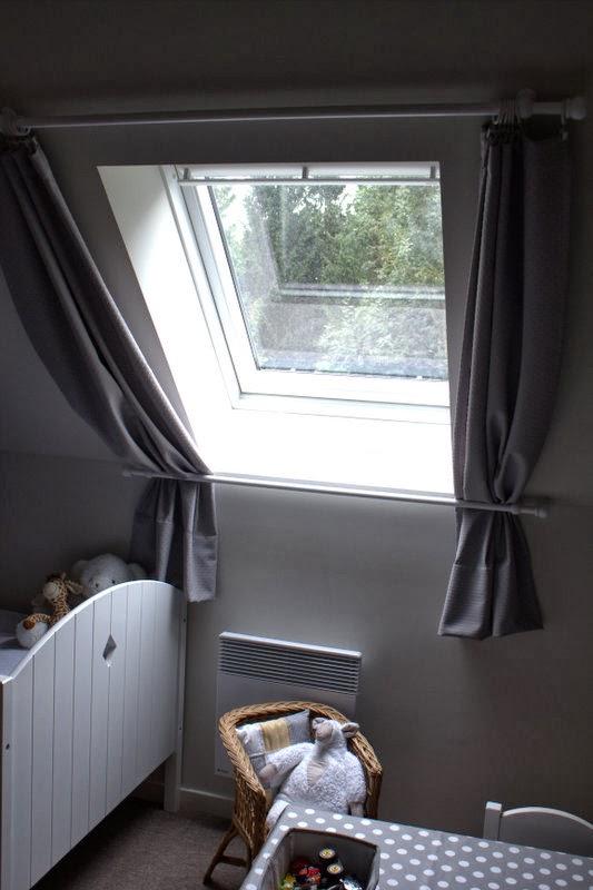 rideaux pour fen tre de toit. Black Bedroom Furniture Sets. Home Design Ideas