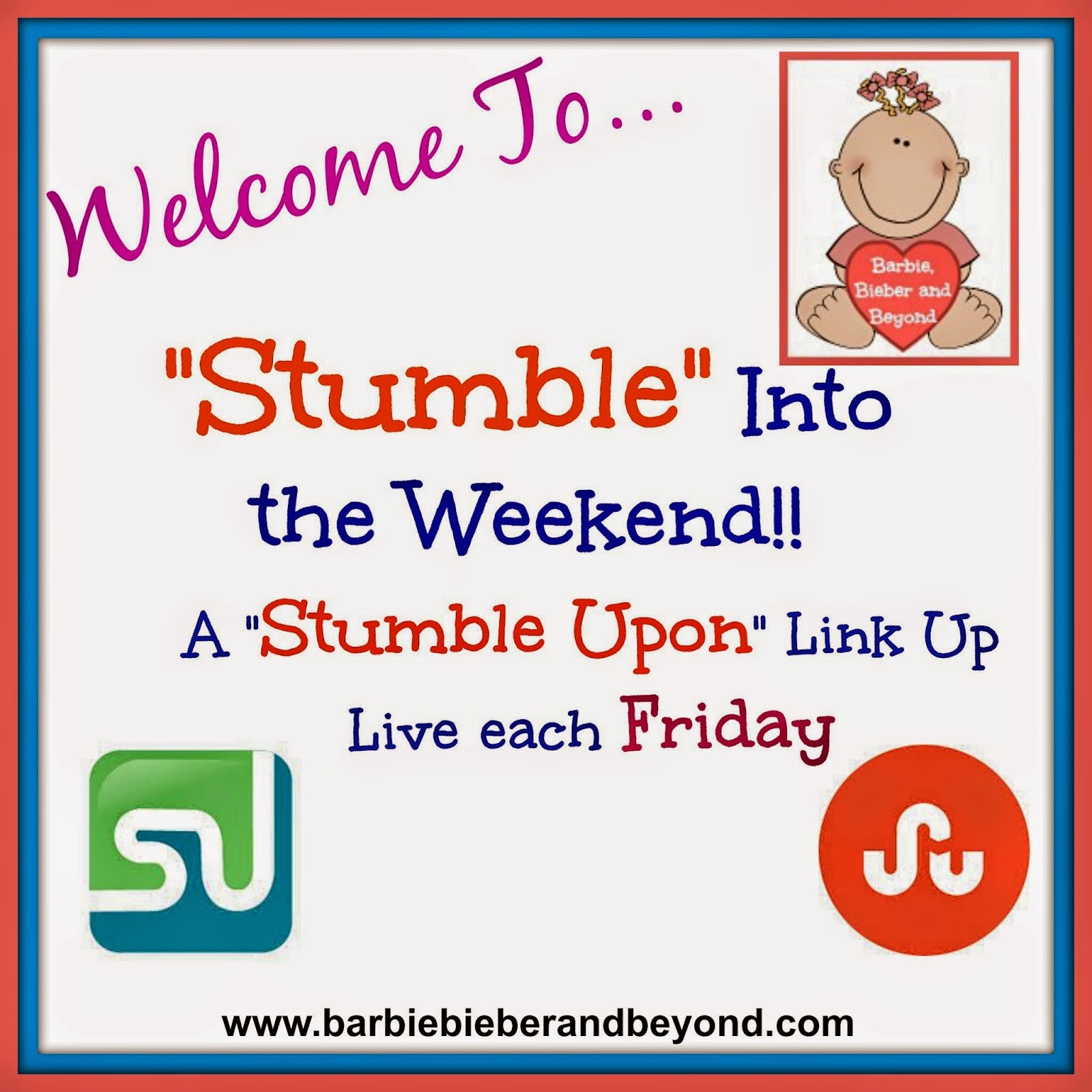 Stumble Into The Weekend Link Up