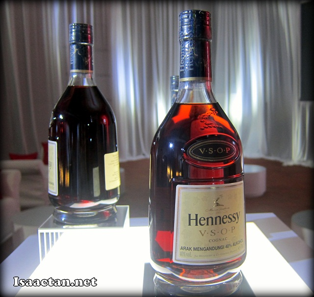 Hennessy V.S.O.P latest and greatest bottle