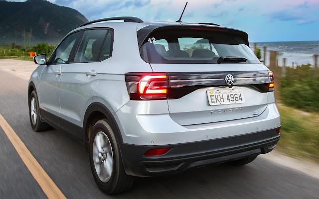 VW T-Cross: recall por problema no eixo traseiro