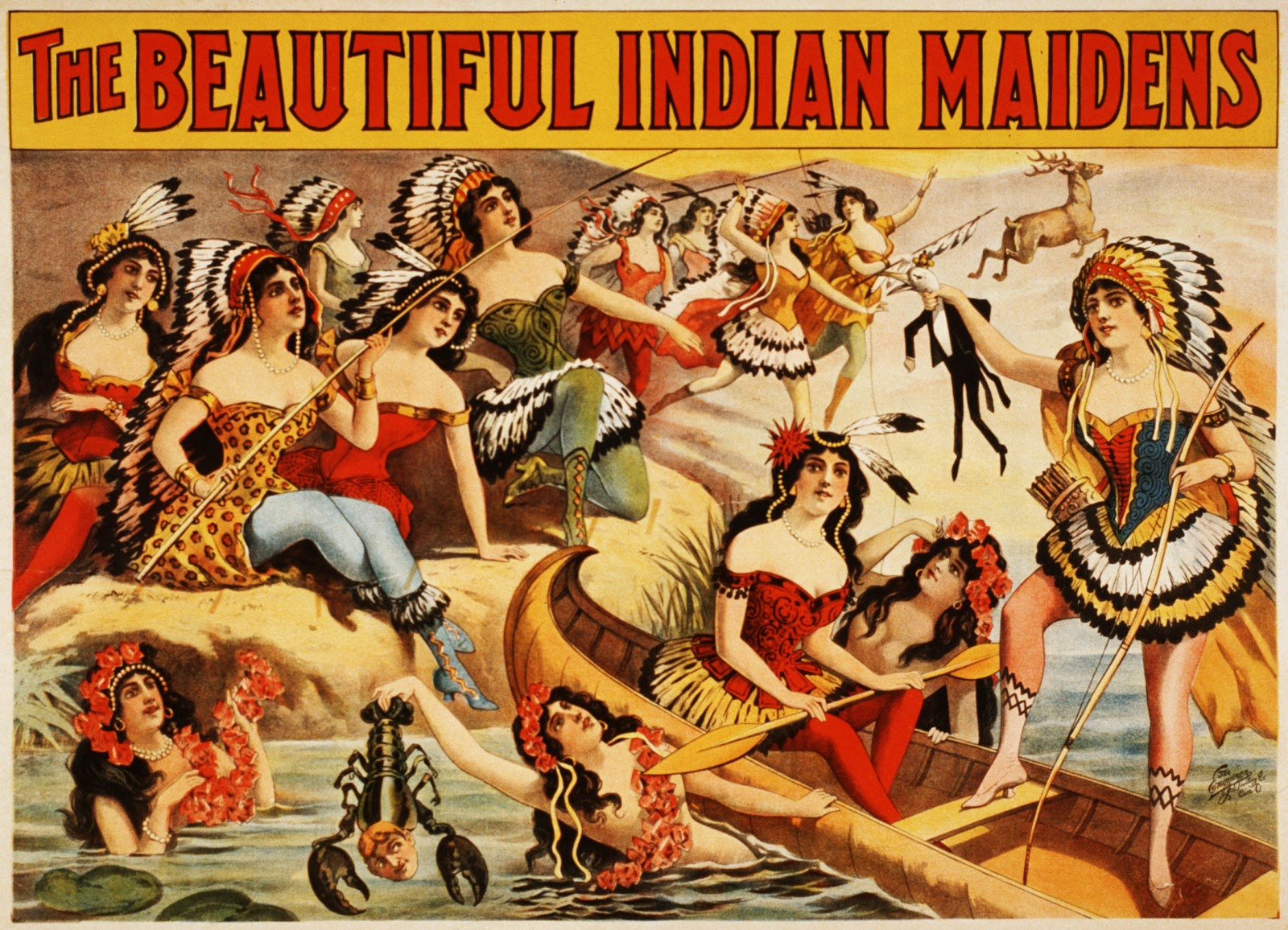 Old Ads Are Funny 1899 Ad The Beautiful Indian Maidens