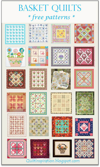 Quilt Inspiration: Free pattern day: Basket Quilts ! : basket quilts - Adamdwight.com