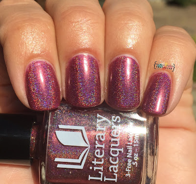 Addicted To Holos Indie Box,Literary Lacquers Phoenix In Her Blood