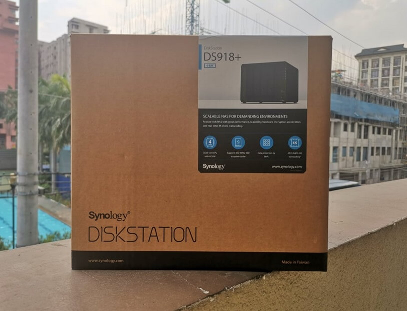 Synology DiskStation DS918+ Retail Box Philippines