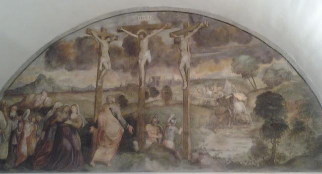 Abbazia di Rosazzo. Crocifissione