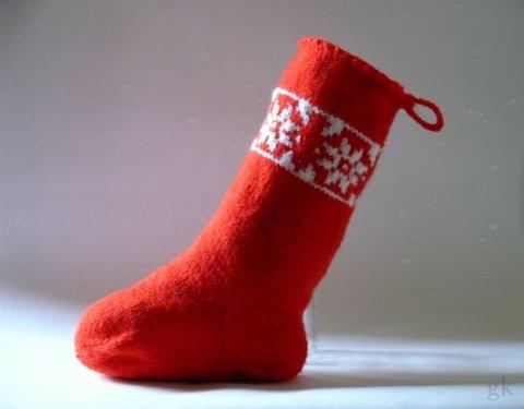 gk kreativ: Nikolausstiefel stricken oder doch lieber nähen ...