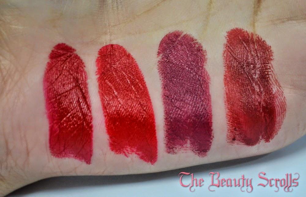 The Beauty Scrolls Medora Of London Lipstick Collection