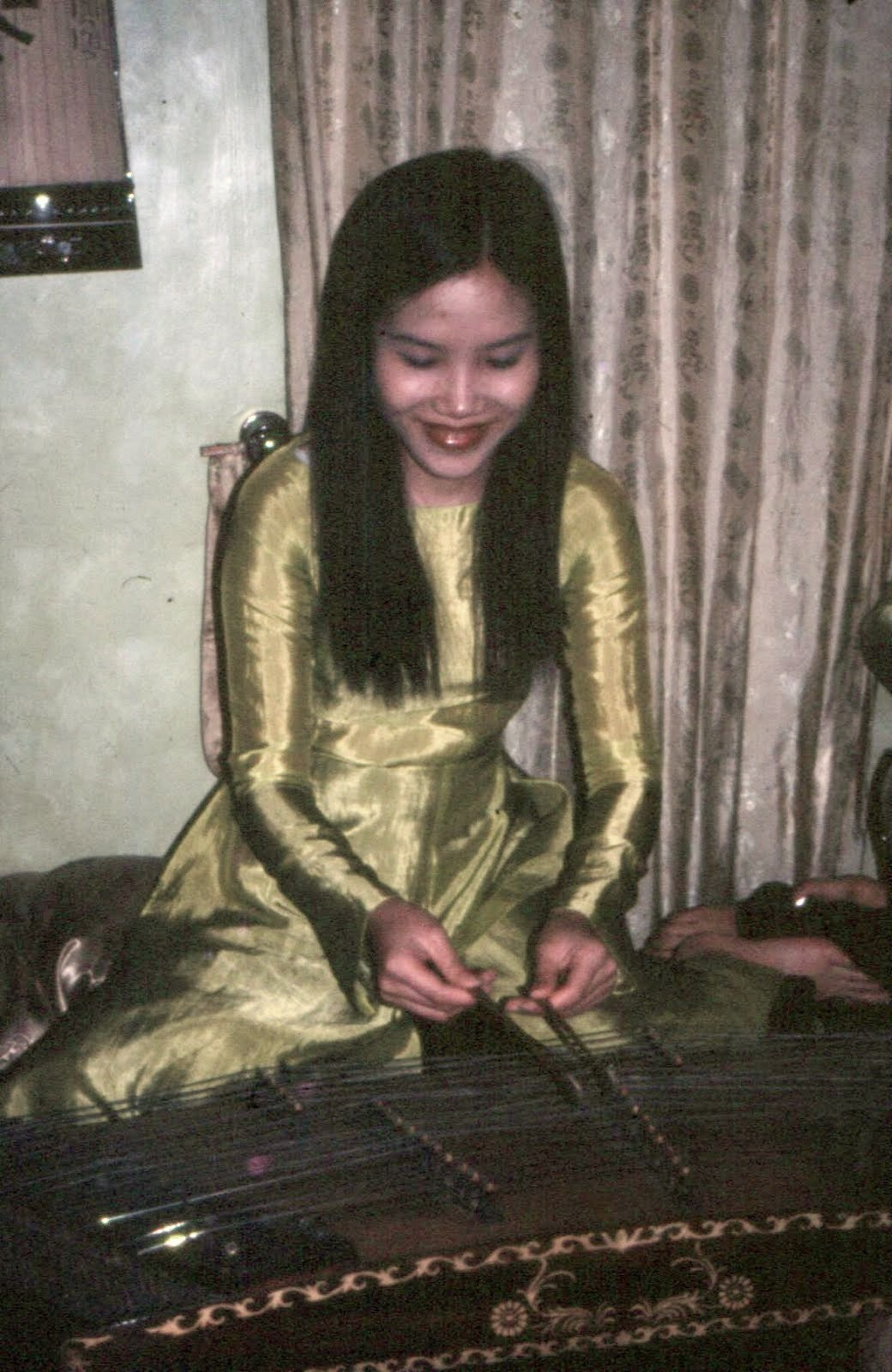 Vietnamese on 42-string zither