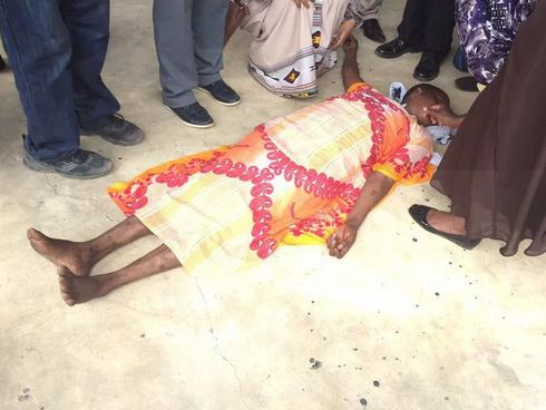 Lady Collapses In Court After Judge Sentences 7 Year Imprisonment To Police Officers Who Killed Her Daughter