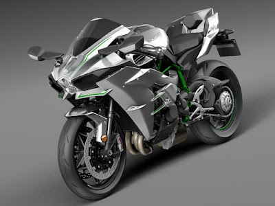 2016 Kawasaki Ninja H2R supersport bike image