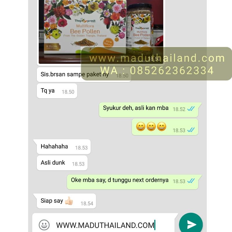 Jual multiflora bee pollen thailand asli harga murah