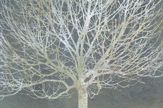 Oksat tapetti puu