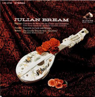 Julian Bream Britten Henze Martin Brindle Villa Lobos 20th Century Guitar