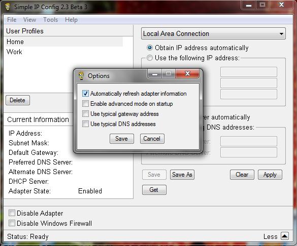 ZEFAN ZEGA BLOG: Simple IP Config - Cepat dan Mudah Mengubah