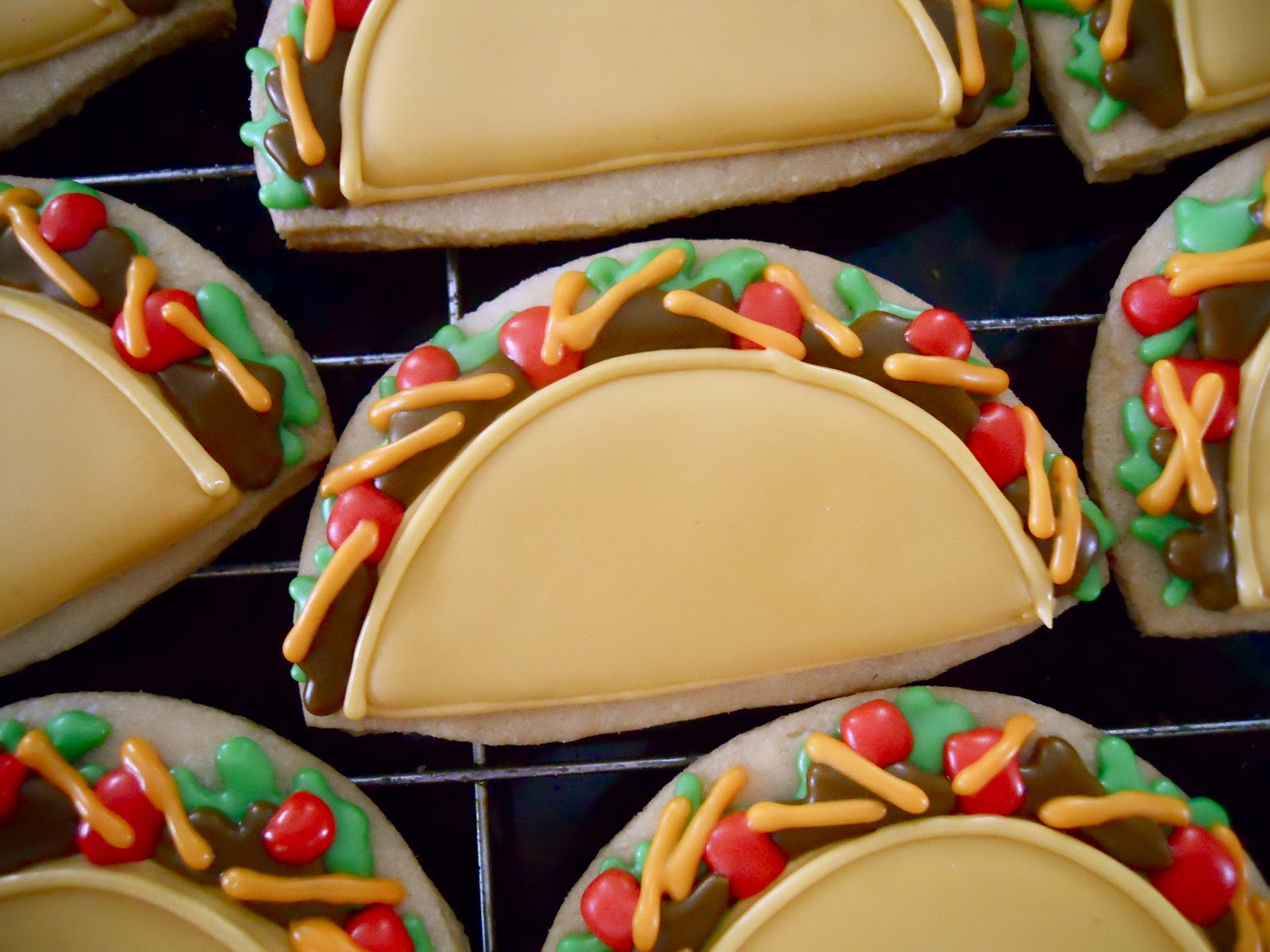 .Oh Sugar Events Taco Tutorial . : cool cookie decorating ideas - www.pureclipart.com