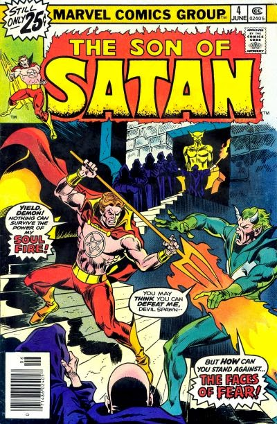 The Son of Satan #4