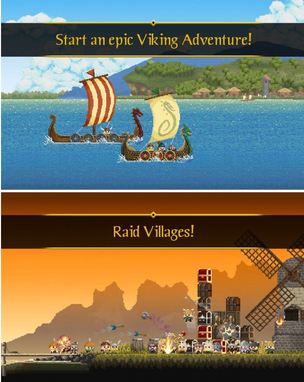 The Last Vikings v1.3.39 Apk Mod (Unlimited Money)