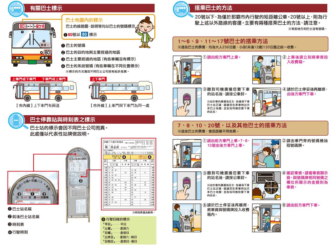 沖繩-交通-公車-巴士-教學-票價-一日券-okinawa-public-transport-bus