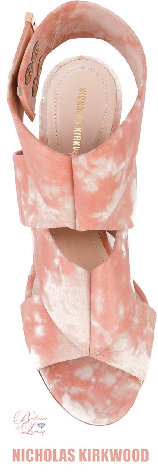 Brilliant Luxury ♦ Nicolas Kirkwood Nini sandals