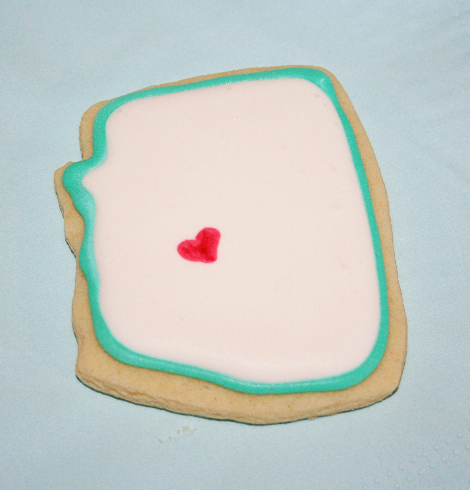 The Secret Stitch Club: Arizona Birthday Cookies