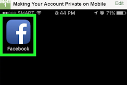 How Make Facebook Account Private