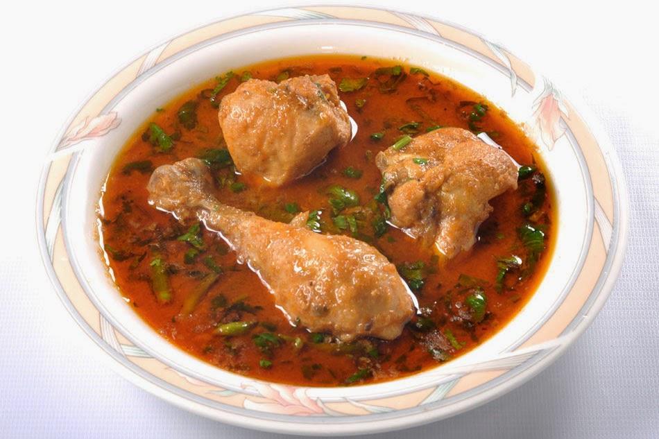 طريقة عمل دجاج بصلصة الطماطم والفلفل حار