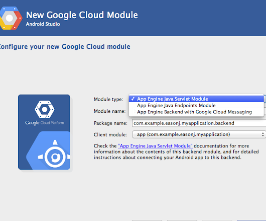 Build Mobile App Services with Google Cloud Tools for Android Studio v1.0
