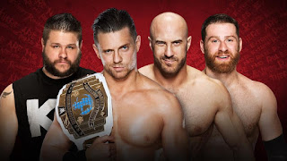 The Miz Intercontinental Title Cesaro Kevin Owens Sami Zayn Extreme Rules