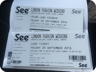 london fashion weekend luxe tickets