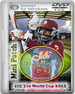 ICC T20 World Cup 2012 Mini-Patch Cover