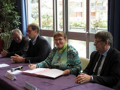 SOTTEVILLE-LES-ROUEN. Signature d'une convention entre la Ville, la Préfecture de Seine-Maritime, la Chambre de commerce et celle des métiers.