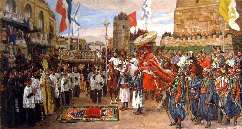 Papa em Jerusalém - As principais pinturas de James Tissot ~ Francês