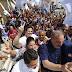 Candidato ao Senado, Bruno Araújo (PSDB) faz caminhada junto com Armando Monteiro (PTB) em Caruaru